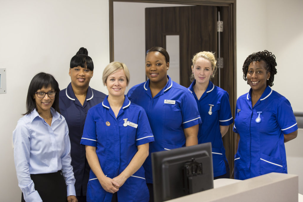 New Ward Staff