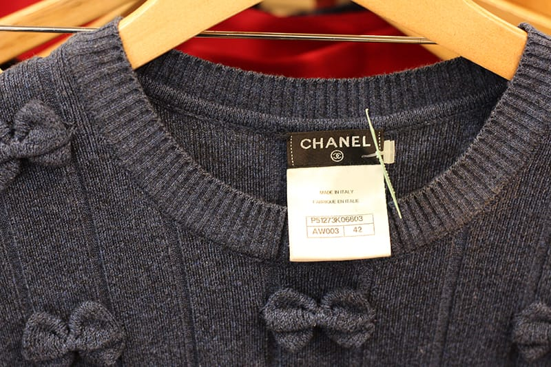 Chanel Bow Top